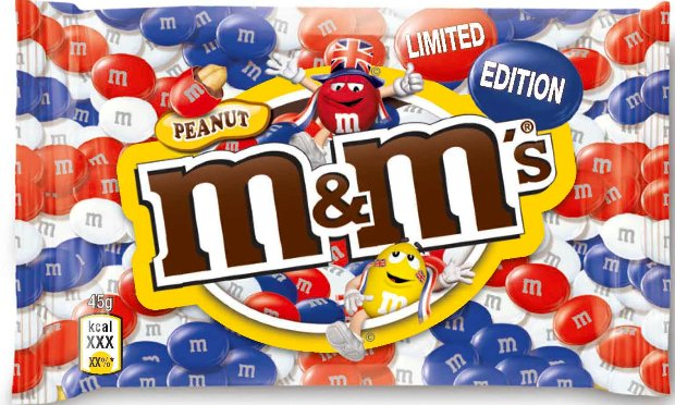 Mars latest Union Jack design on its M&M\'s