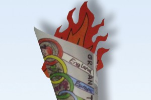 GWP Olympic torch insert