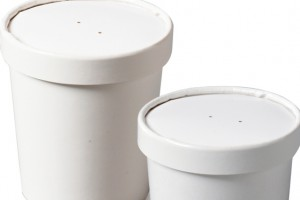 Biopacs compostable soup containers