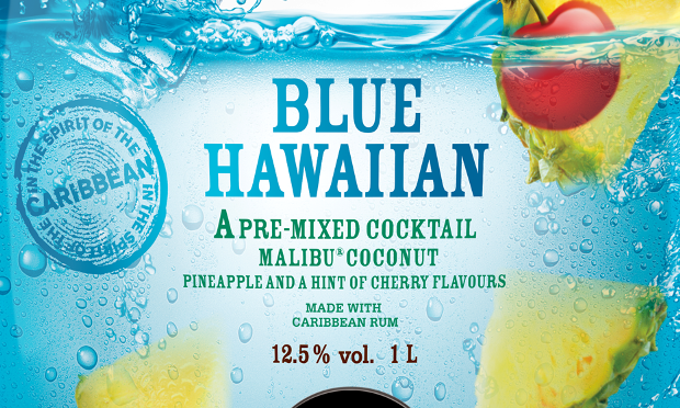 Blue Long Island Cocktail Png