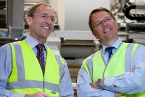 API Group - Andrew Turner Group Chief Executive (left) and Chris Smith Group Finance Director