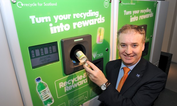 Sweden's deposit return scheme motivates Scotland