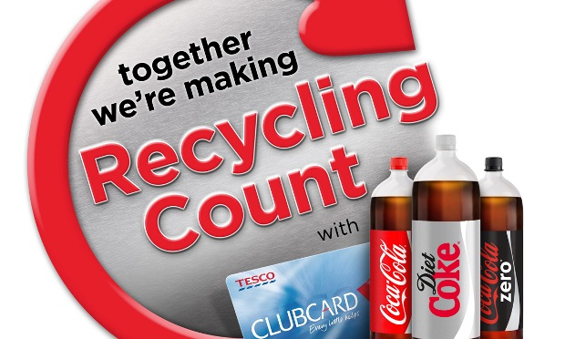 Tesco and Coca-Cola's recycling campaign