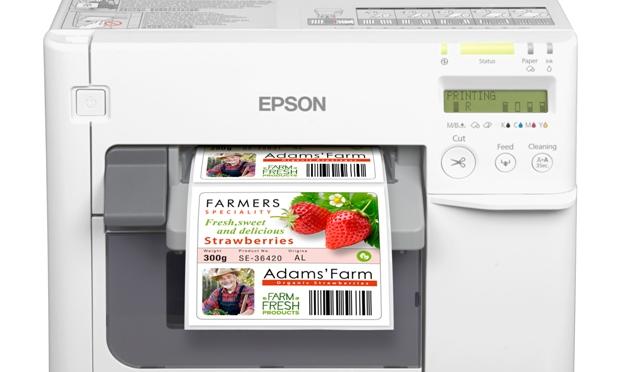Epson launches low-cost TM-C3500 colour label printer