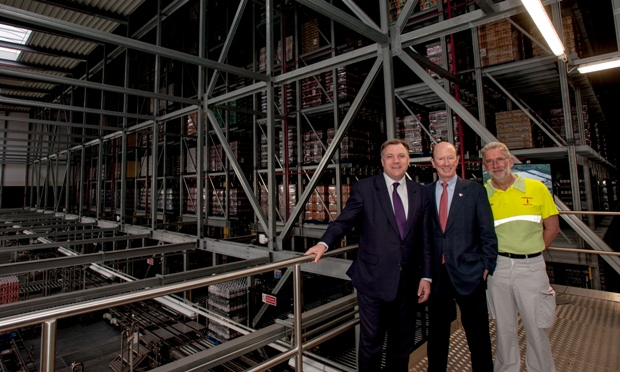 Coca Cola Officially Unveils 163 30m Wakefield Warehouse Facility