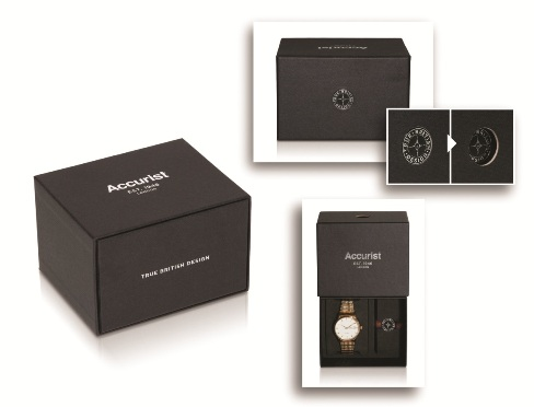 New Accurist Watch Box by Hunter Premium Packaging