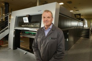 Graphic Packaging International - Dean Naylor welcomes the new Speedmaster XL 145