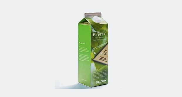 Elopak teams up with SABIC for renewable carton coating