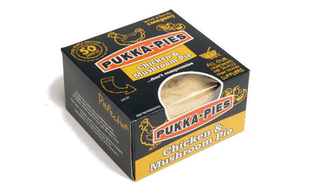 Pukka Pies Launches New Single Pie Packaging
