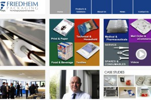 Friedheim packaging website