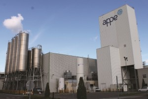 One of APPE's factories - the company has a wide network in Europe