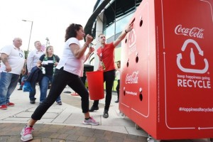 CCE Coca Cola  Twickenham  Rugby Recycle
