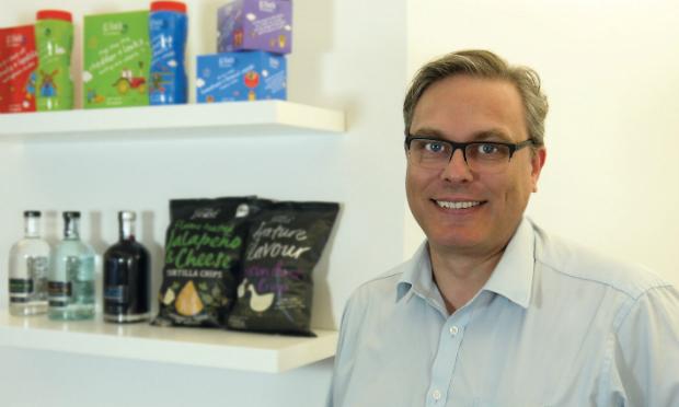 Matthew Kensall, packaging development manager, Sun Branding Solutions