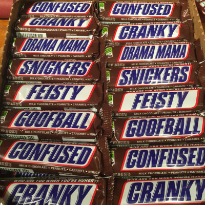 Snickers offers humorous hunger alert with special packs