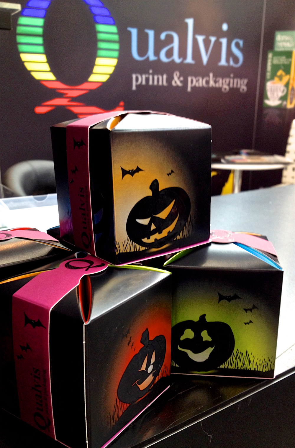 Qualvis showcases its range of finishes with Halloween pack