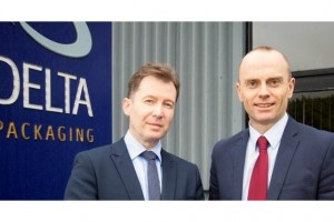 Alan Cunningham (left), Electric Ireland customer relationship manager and Patrick McGibbon, Delta Packaging finance director