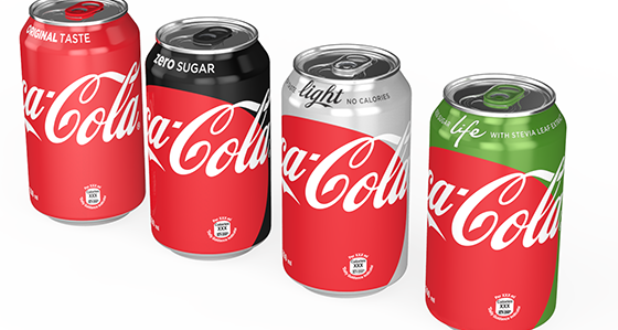 Coca-Cola overhauls pack designs to utilise iconic red ...