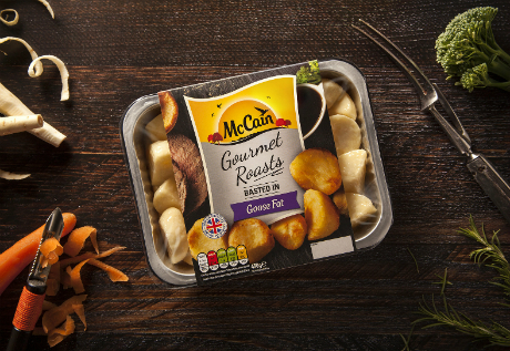 McCain makes chilled debut with new BrandOpus design