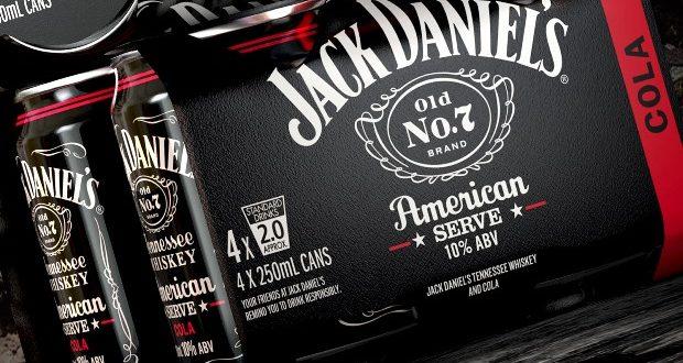 New branding for Jack Daniel's range created by JDO