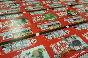 Personalised Food Packaging Jaffa Cakes