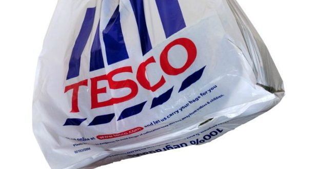 Tesco to scrap 5p carrier bags at Aberdeen stores