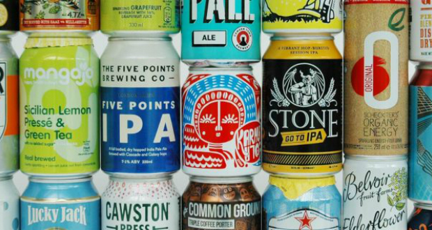 Research shows rise in popularity for canned craft beer
