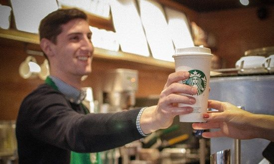 Starbucks introduce 5p charge on paper cups