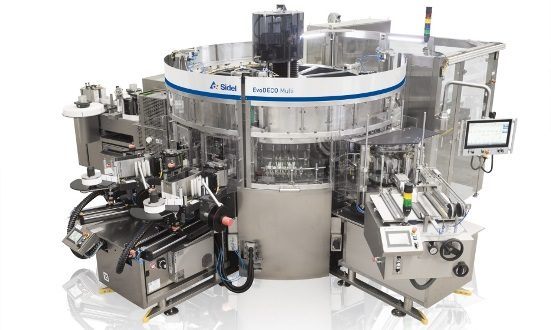 Sidel EvoDECO labelling solution