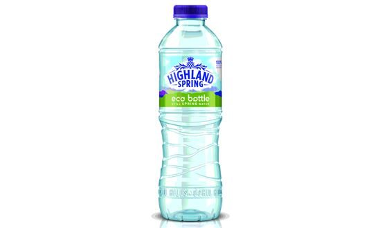 Highland Spring Trials 100 Recycled Plastic Eco Bottle