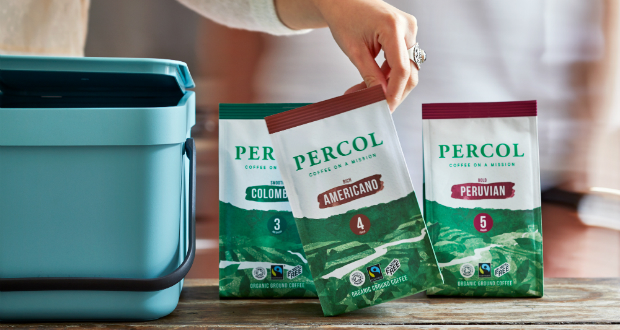 Parkside Creates Compostable Coffee Pack For Percol