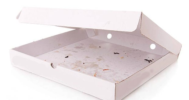 Deliveroo Delivers Greasy Pizza Box Recycling Solution