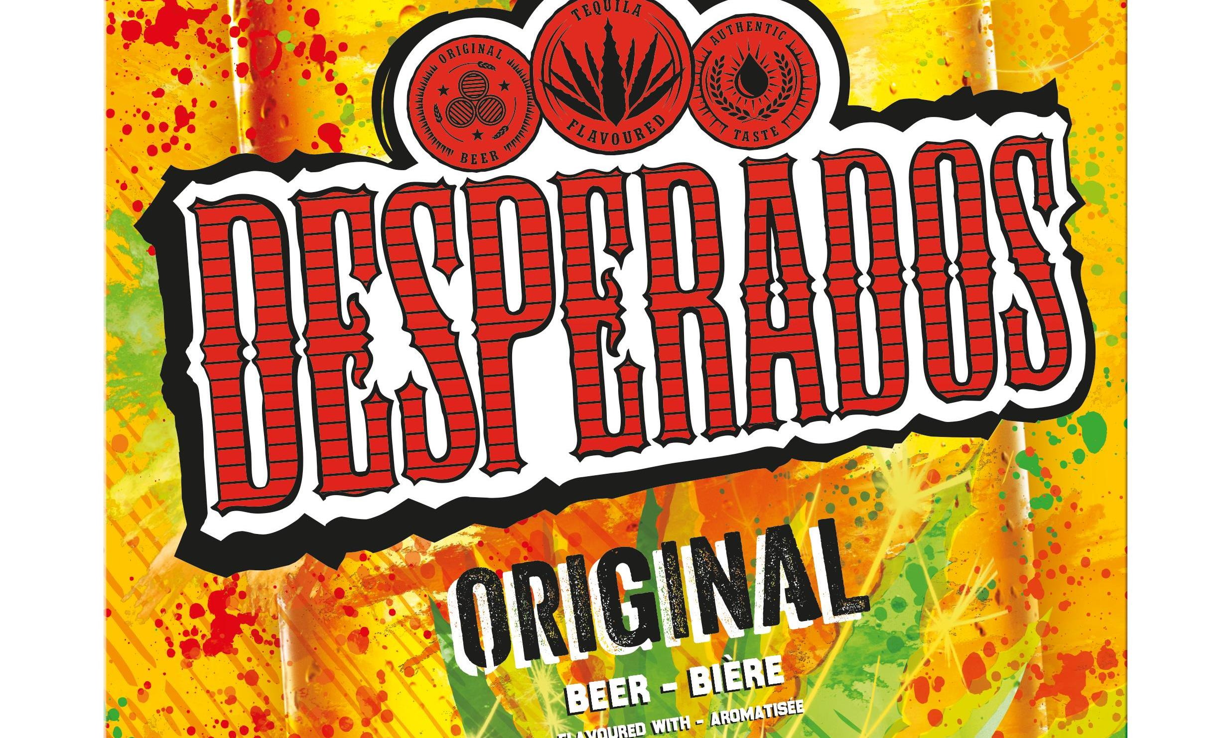Desperados Unveils New Look Branding And Bottle Design