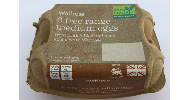 Waitrose Partners Launches Greenest Egg Box Ahead Of Easter