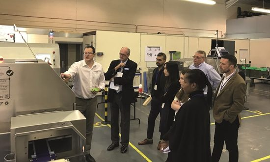 Sparc helps major food supplier reduce waste on production line