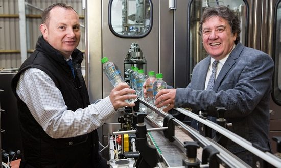 Cheddar Water secures HSBC funding for plastic-free bottling