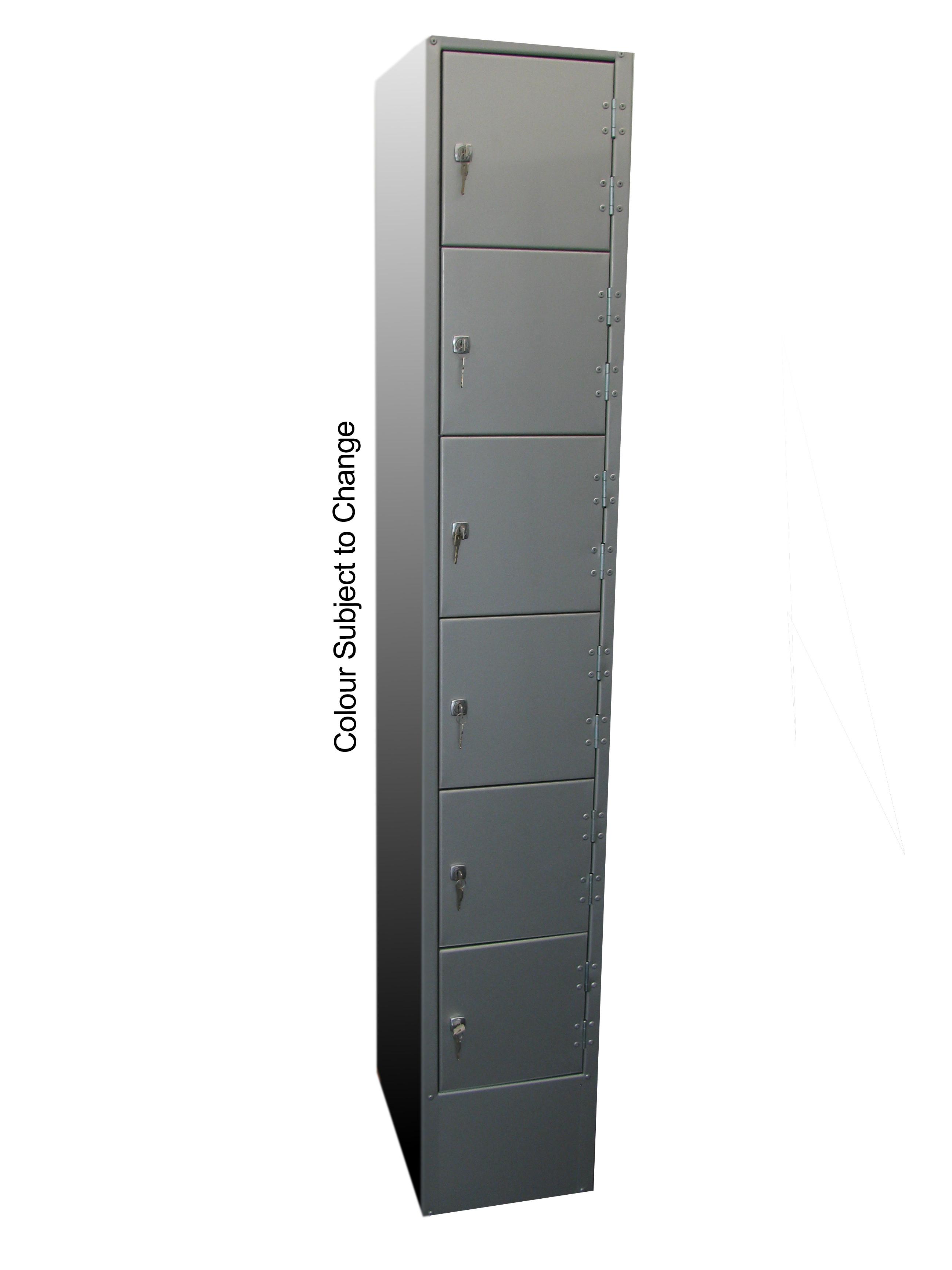 Steel Lockers – Six Door Steel Locker