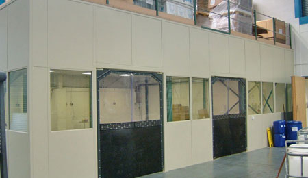 Steel Partitions