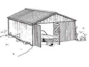 Timber Built Garages