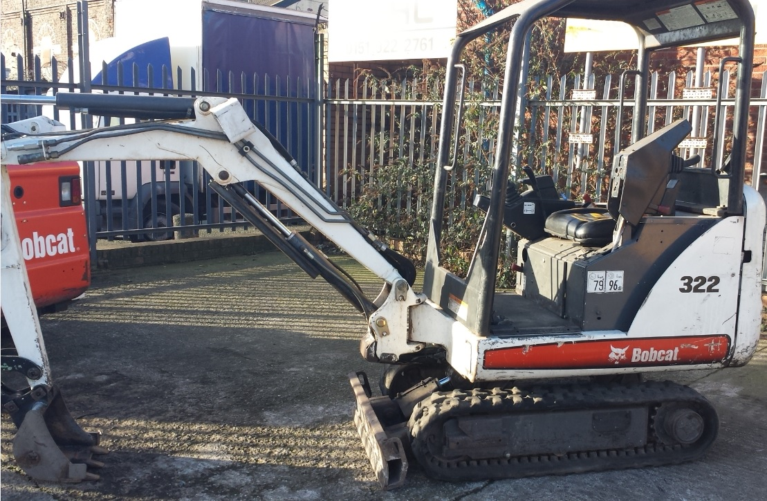 322 Bobcat Mini-Excavator