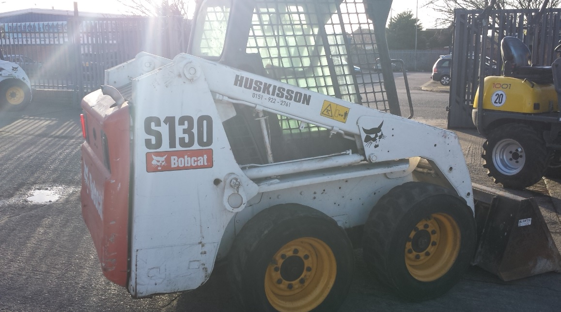 Bobcat S130 Skidsteer Loader – SOLD!