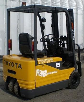 Fork Lift Truck Toyota 5FBE15