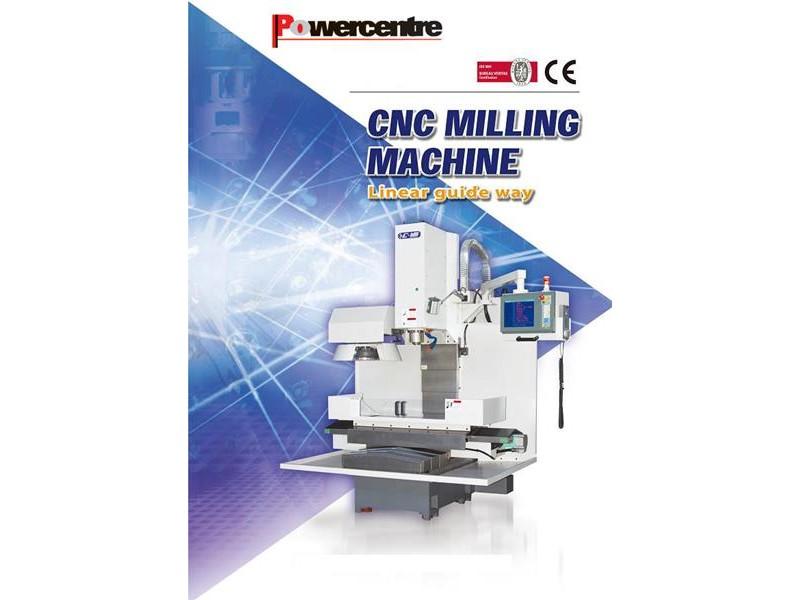 Powercentre KM80L Milling Machine – Vertical Machining Centre