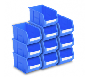 express-blue-plastic-storage-bins