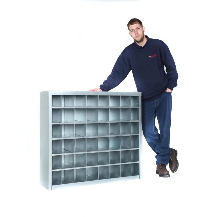 900mm Tall – 24 Bin Pigeon Hole Cabinet