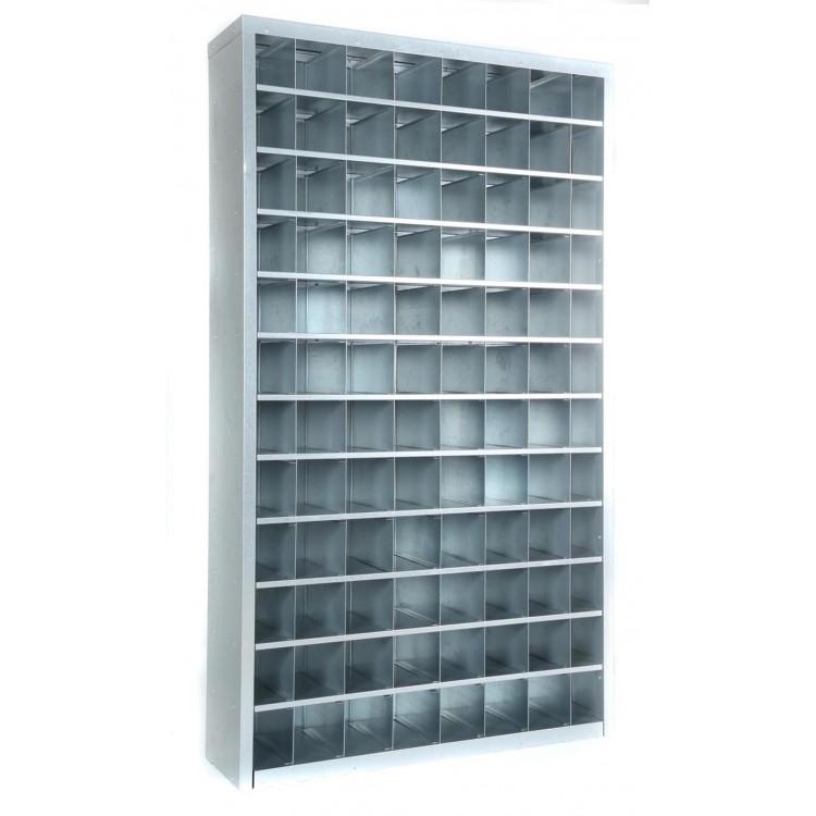 1800mm Tall – 96 Bin Pigeon Hole Cabinet