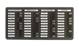 WPIT401 In Out Indicator Board