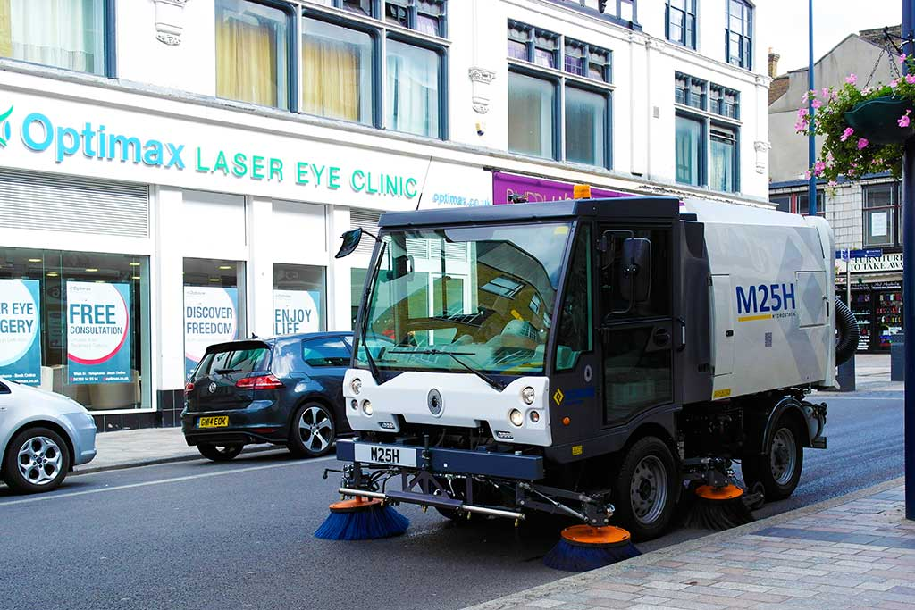 Scarab M25H Road Sweeper