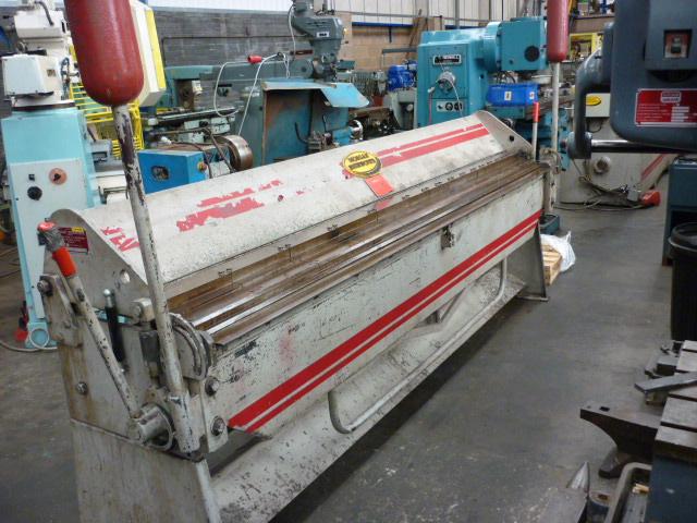 Morgan Rushworth Box & Pan Folding Machine