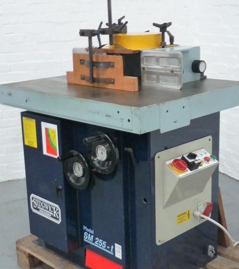 Sedgwick SM 255-T Tilting Spindle Moulder