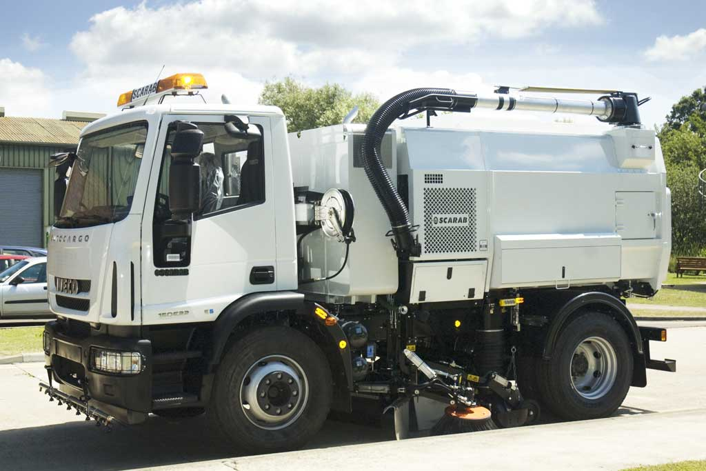 Scarab Magnum Road Sweeper
